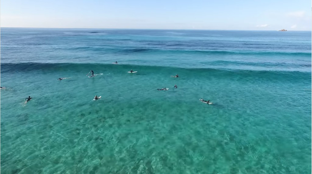 Corsican surf session